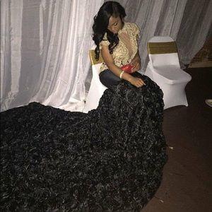 Dresses & Skirts - A formal black dress.